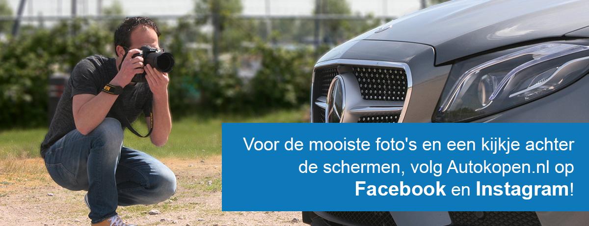 Volg ons op Facebook en Instagram